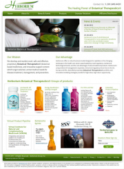 Publicly Traded Botanical Therapeutics� Marketer Transforms Corporate Web Presence with Adrecom CMS Suite