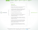 Credo Law Partners Moved to Adrecom�s CMS Suite