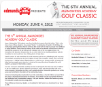 Adrecom�s CMS Suite used for 6th Annual Maimonides Academy Golf Classic