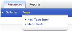 Team Module Integrated into Adrecom Portal Solution