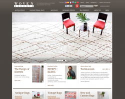 Woven – Antique Rugs, New Design