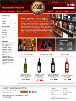 Adrecom Builds Powerful eCommerce Site for Wine and Beer Retailer-Taps World